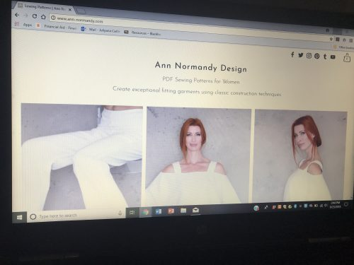 Ann-Normandy Sewing Patterns | Marketing Acuity, Inc