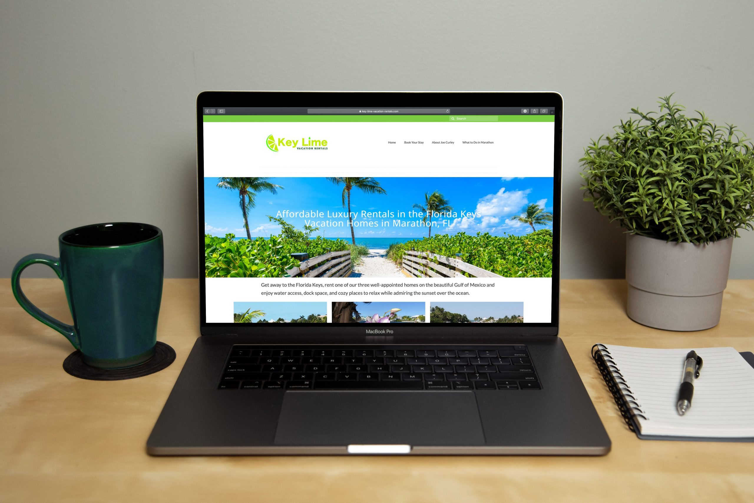 Vacation booking rental booking website platform easy DIY