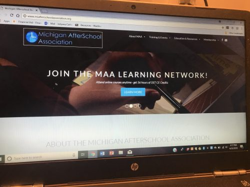 Michigan AfterSchool Association Marketing Acuity Portfolio
