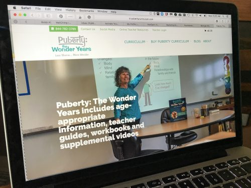 Puberty Curriculum Marketing Acuity Portfolio