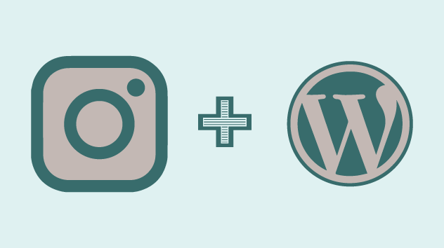 How to create an instagram landing page for wordpress