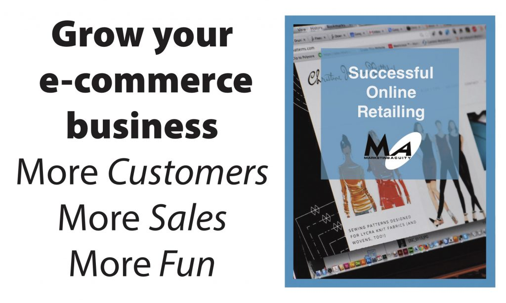 Retail ecommerce how to WordPress, Squarespace, crafters artists, designers sewing