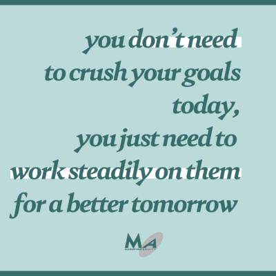 Simple more goal setting 2021 female entrepreneur crush goals meme