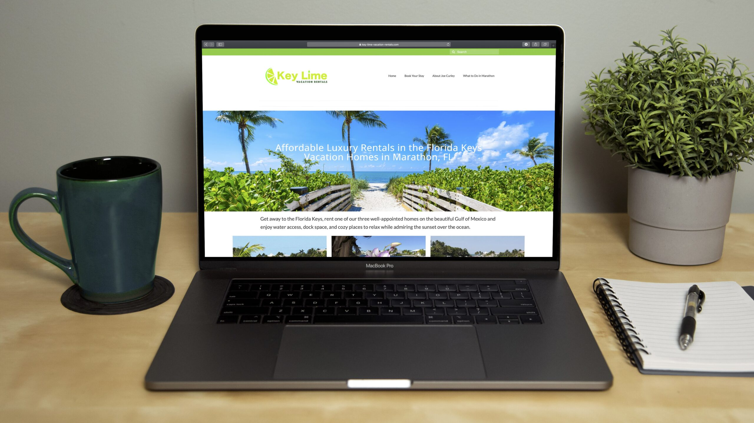 Key Lime Vacation Rentals Best Free Wordpress Themes